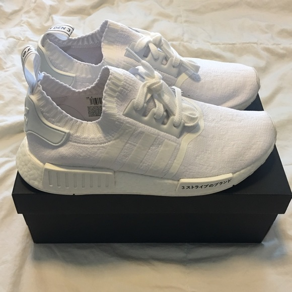 eb7943ec1 adidas NMD R1 Japan Triple White BRAND NEW